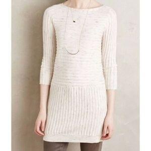Anthropologie Moth Heathered Sweater Dress Size XL